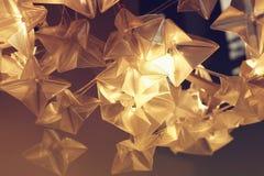 Lampa z płatkami Fotografia Stock