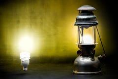 Lampada antica Fotografie Stock