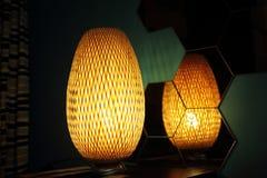 Lampada arancio Fotografia Stock Libera da Diritti