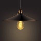 Lampada brillante del candeliere Immagine Stock Libera da Diritti