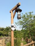 Lampada classica Immagine Stock