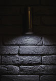 Lampada da parete fotografia stock libera da diritti