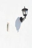 Lampada da parete bianca Fotografie Stock Libere da Diritti