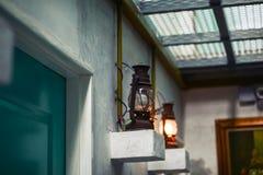 Lampada da parete d'annata classica Fotografia Stock