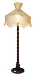 Lampada decorata alta Fotografie Stock