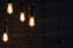 Lampada decorativa immagine stock