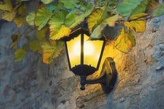Lampada decorativa Fotografia Stock Libera da Diritti