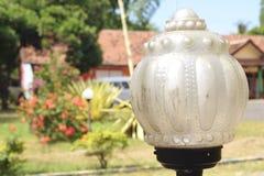 Lampada del giardino Fotografie Stock