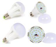 Lampada del LED con il diffusore fotografia stock