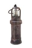 Lampada del minatore Fotografia Stock Libera da Diritti