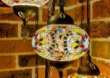 Lampada del mosaico fotografie stock libere da diritti