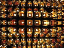 Lampada del soffitto Fotografia Stock Libera da Diritti