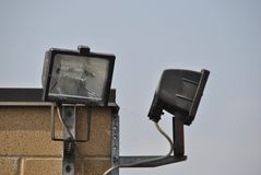 Lampada dell'alogeno dentro Fotografia Stock Libera da Diritti