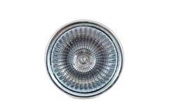 Lampada dell'alogeno su fondo bianco fotografie stock