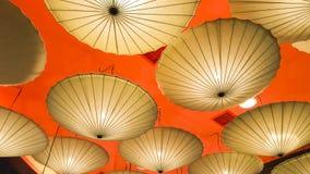 Lampada dell'ombrello Immagini Stock