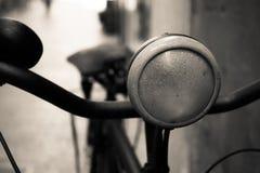 Lampada della bici fotografia stock