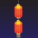 Lampada della Cina Fotografia Stock