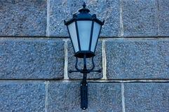 Lampada della lanterna della via Fotografia Stock Libera da Diritti