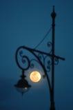 Lampada della luna Fotografia Stock