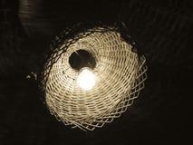 Lampada della paglia Fotografia Stock