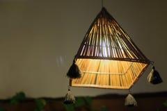 Lampada della paglia Fotografie Stock