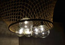 Lampada della rete da pesca Fotografie Stock