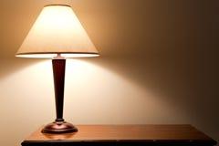Lampada della Tabella Immagine Stock Libera da Diritti