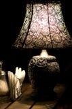 Lampada della Tabella Immagini Stock