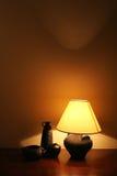 Lampada della Tabella Fotografia Stock
