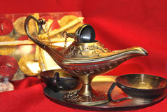 Lampada di Aladdin Fotografie Stock
