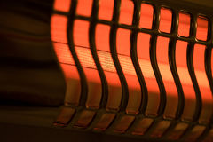 Lampada di calore d'ardore Immagine Stock