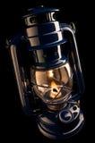 Lampada di cherosene Illuminating Fotografie Stock Libere da Diritti