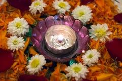 Lampada di Diwali fotografie stock