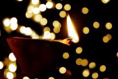 Lampada di Diwali Fotografia Stock Libera da Diritti