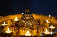 Lampada di Diwali Fotografie Stock Libere da Diritti