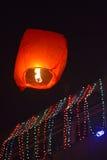 Lampada di galleggiamento Fotografie Stock Libere da Diritti