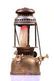 Lampada di gas antica fotografie stock