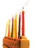 Lampada di Hanukkah fotografia stock libera da diritti