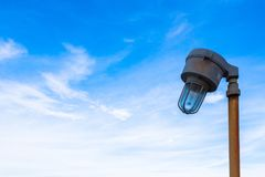 Lampada di illuminazione o lampada a scarica ad alta intensità Immagine Stock Libera da Diritti