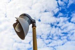 Lampada di illuminazione o lampada a scarica ad alta intensità Fotografia Stock Libera da Diritti
