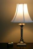 Lampada di lato del letto Immagini Stock