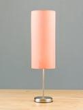 Lampada di lato del letto Fotografie Stock