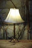 Lampada di lato del letto Fotografia Stock