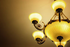 Lampada di lusso Fotografie Stock