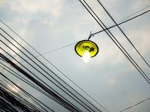 Lampada di mercurio di alto potere Fotografia Stock Libera da Diritti