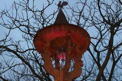 Lampada di Natale Fotografie Stock