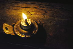 Lampada di olio fotografie stock