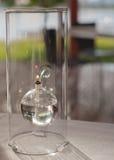 Lampada di olio di vetro moderna Fotografie Stock