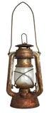 Lampada di olio isolata su bianco immagine stock