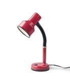 Lampada di tabella di livellamento rossa Fotografia Stock
